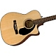 Fender cc60sce Solid Top acoustic  electric Guitar