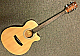 Lawson Acoustic Concert Guitar thin body spruce top Sapele B&S natural matt 39