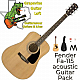 Fender FA-115 Dreadnought Starter Acoustic Guitar Pack w/ Accessories