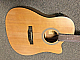 Washburn EA12B acoustic electric guitar with onboard tuner concert size body